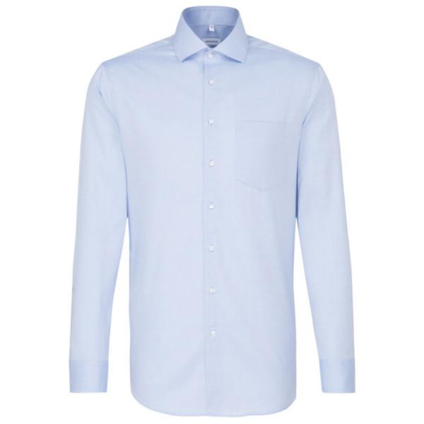 Seidensticker REGULAR Hemd FEIN OXFORD hellblau mit Spread Kent Kragen in moderner Schnittform