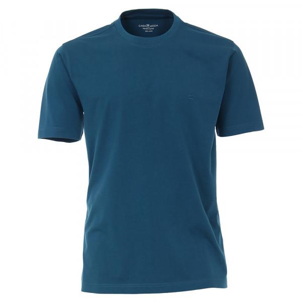 CASAMODA T-Shirt mittelblau in klassischer Schnittform