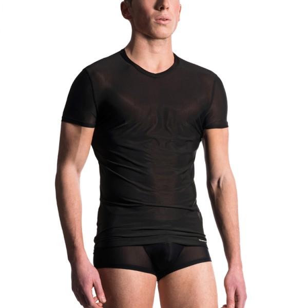 """Manstore """"M101"""" schwarzes T-Shirt"""
