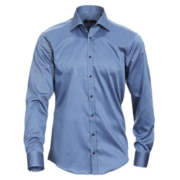 """Venti Hemd """"Twill"""" dunkelblau mit Kent Kragen in moderner Schnittform"""