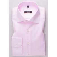Eterna Hemd MODERN FIT TWILL rosa mit Classic Kent Kragen in moderner Schnittform