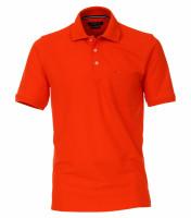 CASAMODA Poloshirt orange in klassischer Schnittform