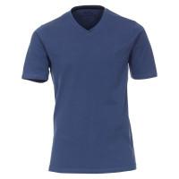 Redmond T-Shirt dunkelblau in klassischer Schnittform