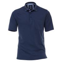 Redmond Poloshirt dunkelblau in klassischer Schnittform