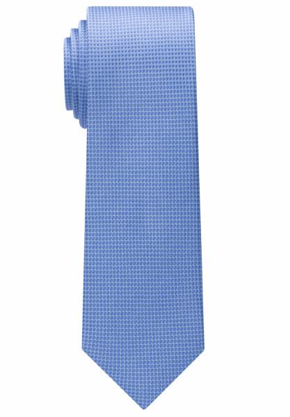 Eterna Krawatte hellblau strukturiert
