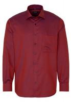 Eterna Hemd COMFORT FIT STRUKTUR orange mit Classic Kent Kragen in moderner Schnittform
