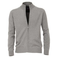 CASAMODA Strickjacke in grau