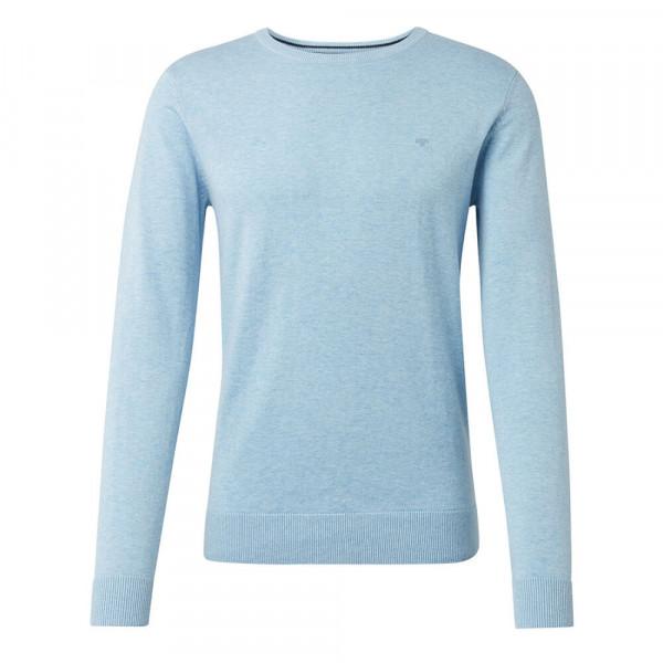 Tom Tailor Pullover hellblau in klassischer Schnittform