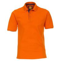 Redmond Poloshirt orange in moderner Schnittform