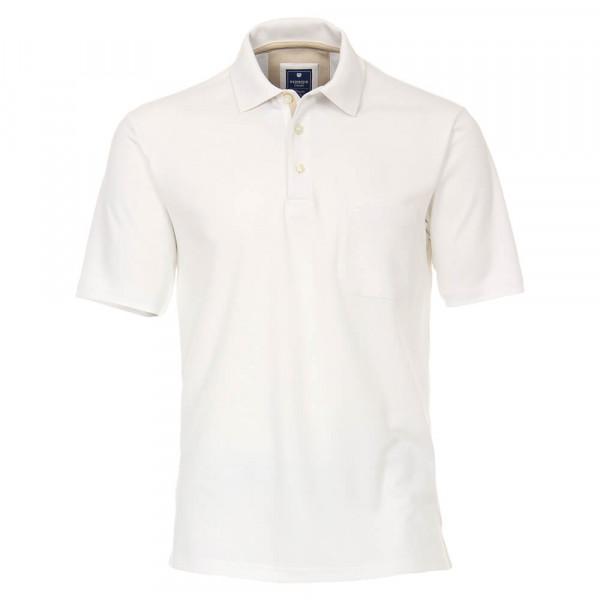 Redmond Poloshirt weiss in klassischer Schnittform