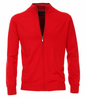 CASAMODA Strickjacke rot in klassischer Schnittform