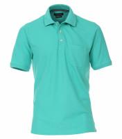 CASAMODA Poloshirt grün in klassischer Schnittform