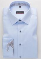 Eterna Hemd MODERN FIT TWILL hellblau mit Modern Kent Kragen in moderner Schnittform