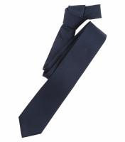 Venti Krawatte dunkelblau strukturiert
