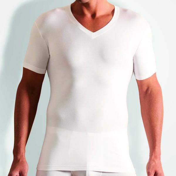 "Novila ""STRETCH COTTON"" weißes T-Shirt"