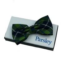 Parsley Krawatte grün kariert