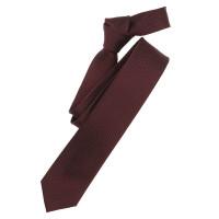 Venti Krawatte dunkelrot strukturiert