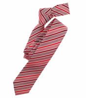 Venti Krawatte rot gestreift