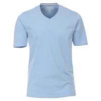 Redmond T-Shirt hellblau in klassischer Schnittform