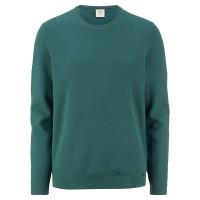 OLYMP Strick Level Five Pullover grün in schmaler Schnittform