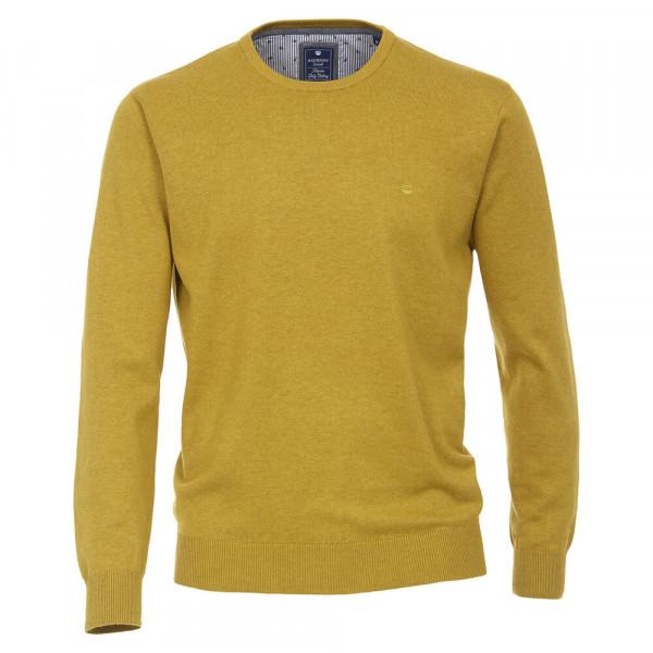 Redmond Pullover beige in klassischer Schnittform
