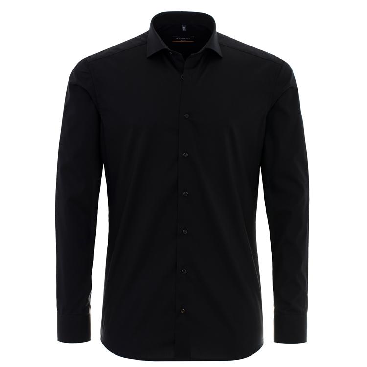 eterna hemd slim fit schwarz 8424 f182 39 feine hemden. Black Bedroom Furniture Sets. Home Design Ideas