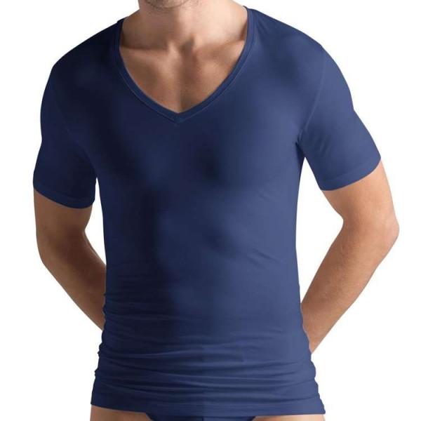 """Hanro """"COTTON SUPERIOR"""" marine T-Shirt"""