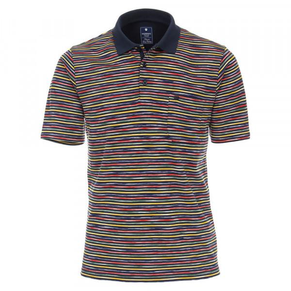 Redmond Poloshirt mehrfarbig in klassischer Schnittform