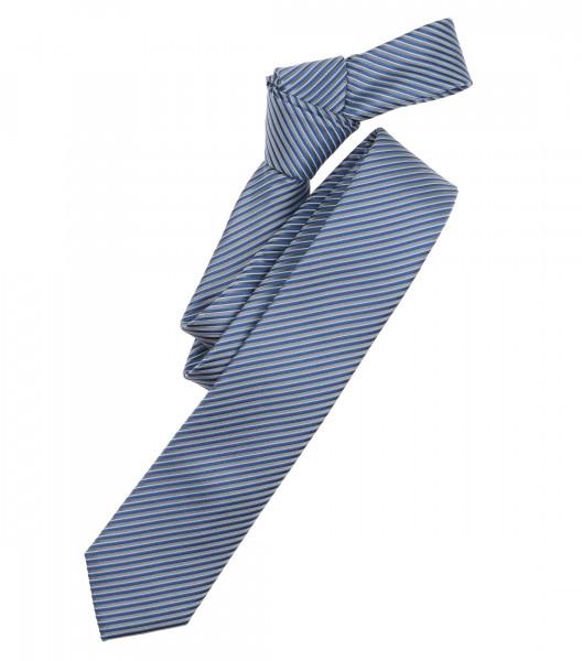 Venti Krawatte hellblau gestreift