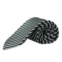 Olymp Krawatte schwarz gestreift