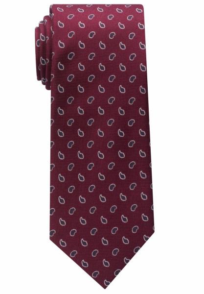 Eterna Krawatte dunkelrot gemustert