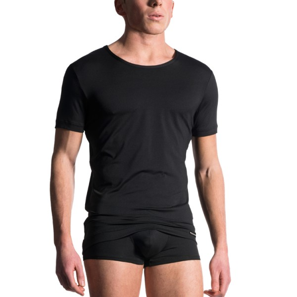 """Manstore """"M103"""" schwarzes T-Shirt"""