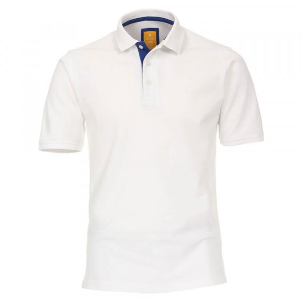 Redmond Poloshirt weiss in moderner Schnittform