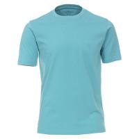 CASAMODA T-Shirt grün in klassischer Schnittform