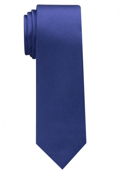 Eterna Krawatte mittelblau unifarben