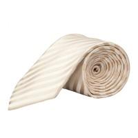Parsley Krawatte creme gestreift