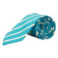 Parsley Krawatte türkis gestreift