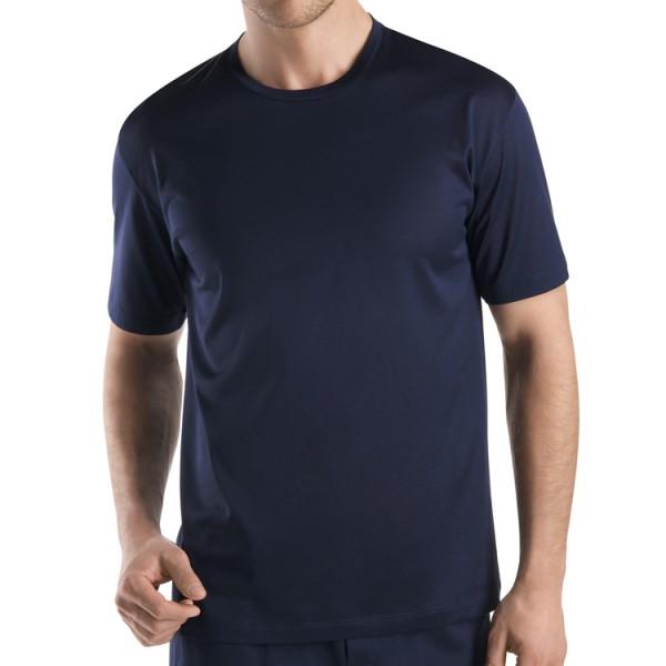 "Hanro ""COTTON SPORTY"" marine T-Shirt"