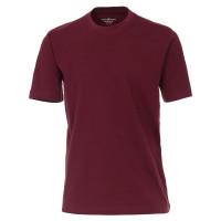 CASAMODA T-Shirt dunkelrot in klassischer Schnittform