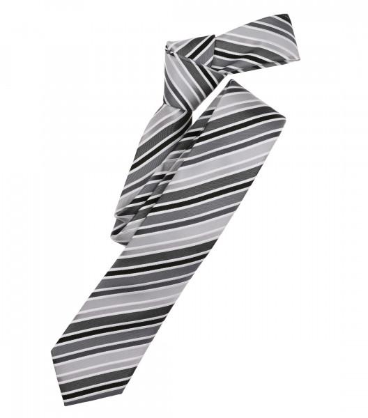 Venti Krawatte anthrazit gestreift