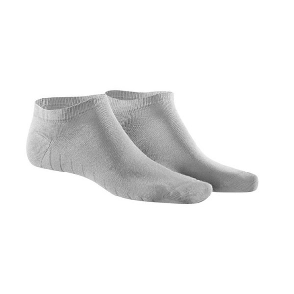 KUNERT FRESH UP Sneaker Socke grau