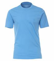 CASAMODA T-Shirt hellblau in klassischer Schnittform