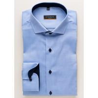 Eterna Hemd SLIM FIT FEIN OXFORD hellblau mit Hai Kragen in schmaler Schnittform