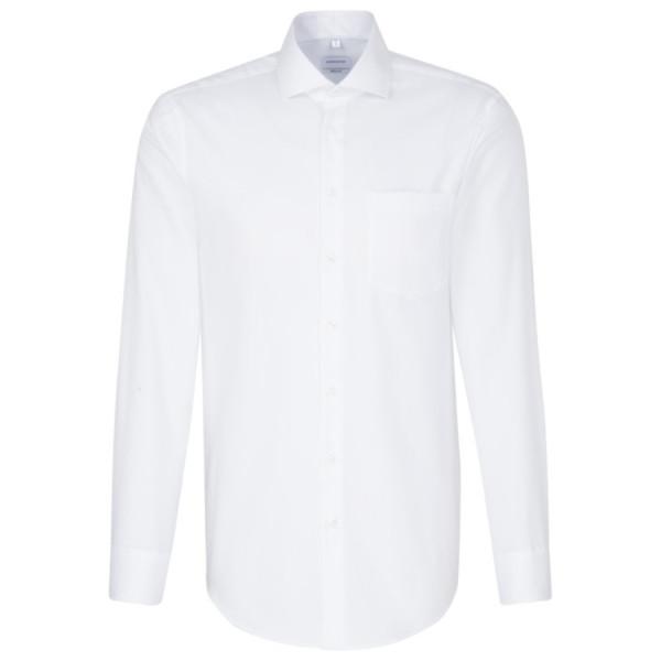 Seidensticker REGULAR Hemd FEIN OXFORD weiss mit Spread Kent Kragen in moderner Schnittform