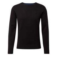 Tom Tailor Pullover schwarz in klassischer Schnittform