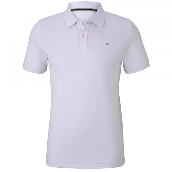 Tom Tailor Poloshirt weiss in klassischer Schnittform
