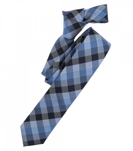 Venti Krawatte hellblau gemustert