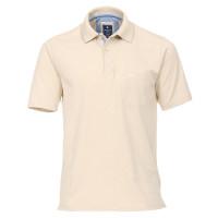 Redmond Poloshirt beige in klassischer Schnittform