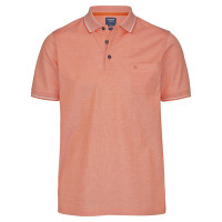 OLYMP Polo modern fit orange in moderner Schnittform